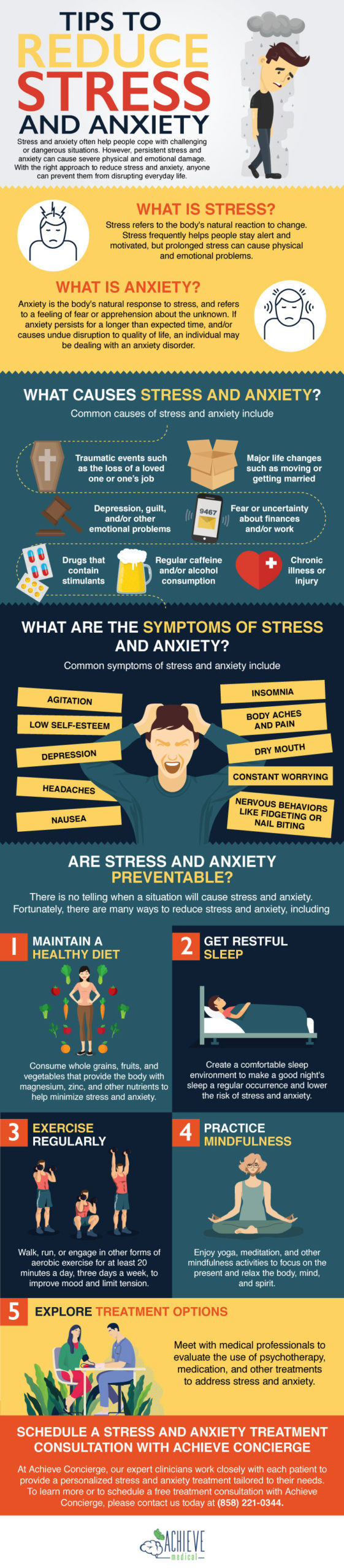 Tips to Reduce Stress and Anxiety